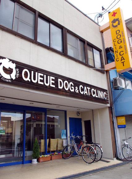 動物病院の入口
